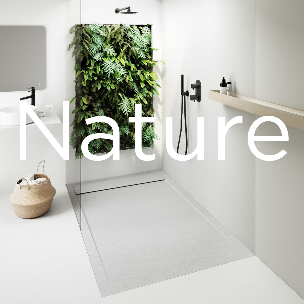 nuovvo plato de ducha nature