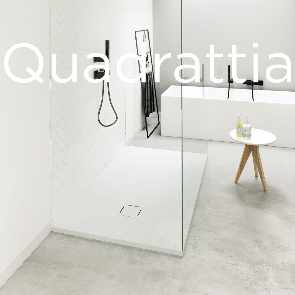 Nuovvo plata de ducha quadrattia