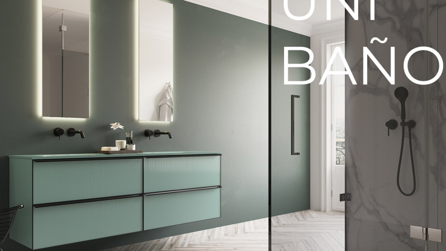 mueble baño unibaño glass